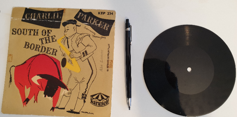 The lacquer record – a story from Sweden's past