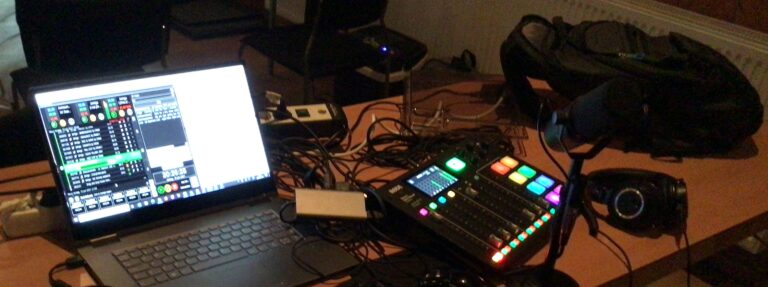 Going live – a tale from the radio trenches